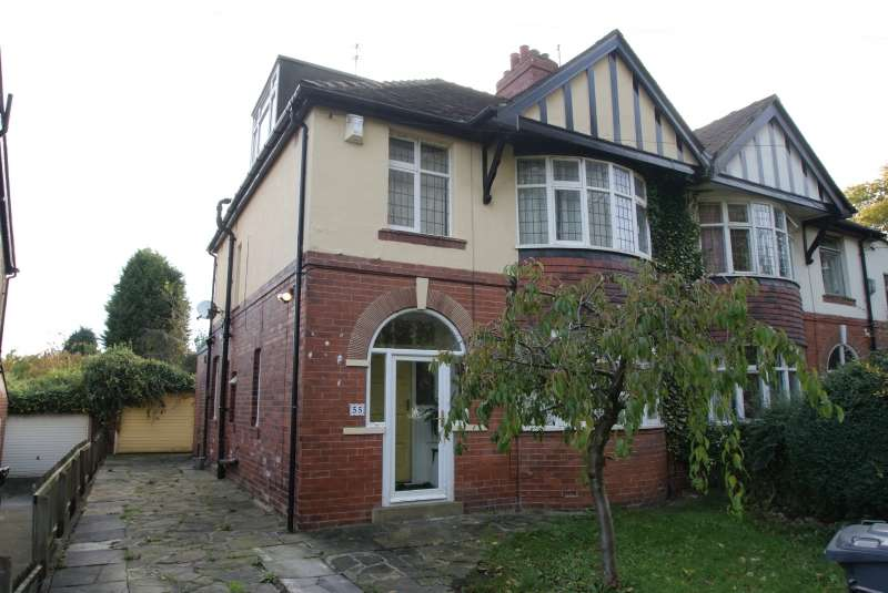 5 Bedrooms Semi Detached House for rent in St Chads Drive, Headingley, Leeds