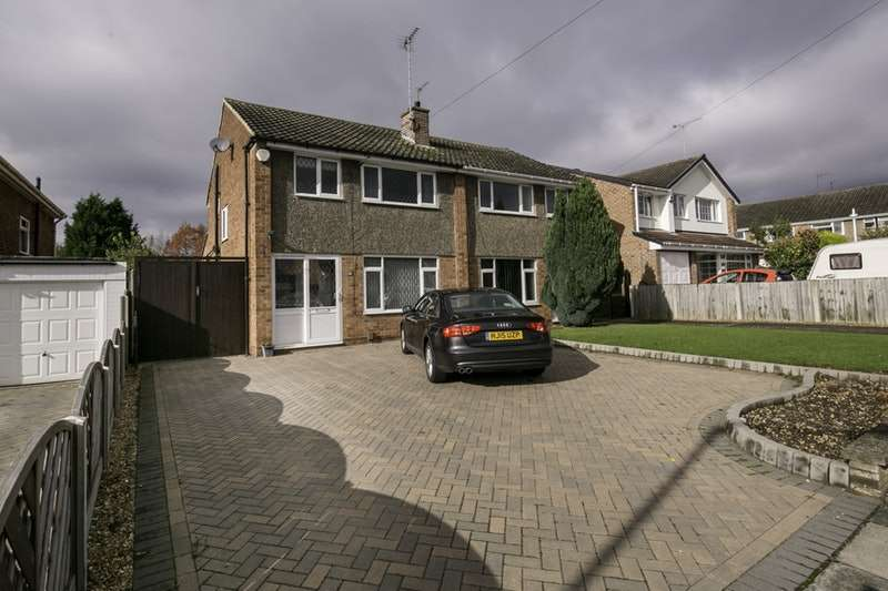 3 Bedrooms Semi Detached House for sale in Chaceley Way, Nottingham, Nottinghamshire, NG11