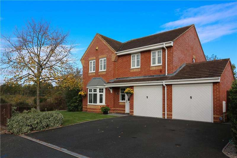 4 Bedrooms Detached House for sale in Impney Way, Droitwich, Worcestershire, WR9