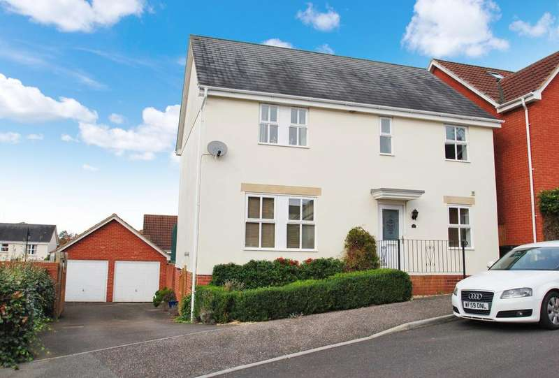 4 Bedrooms Detached House for sale in Stutts End, Cotford St. Luke
