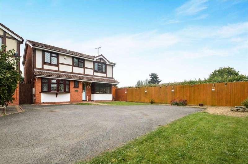 5 Bedrooms Detached House for sale in 3 St Johns Close, Kidderminster, Worcestershire, DY11