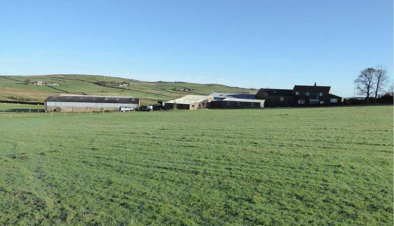 5 Bedrooms Farm Land Commercial for sale in Hollin Raikes Farm, Sandyforth Lane, Cowling, Keighley, BD22 0NB