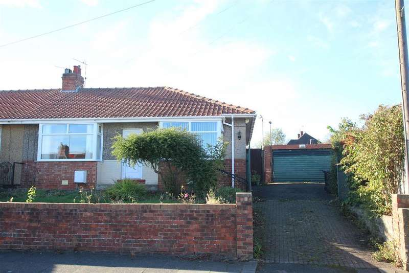 3 Bedrooms Semi Detached Bungalow for sale in Welbeck Avenue, Darlington