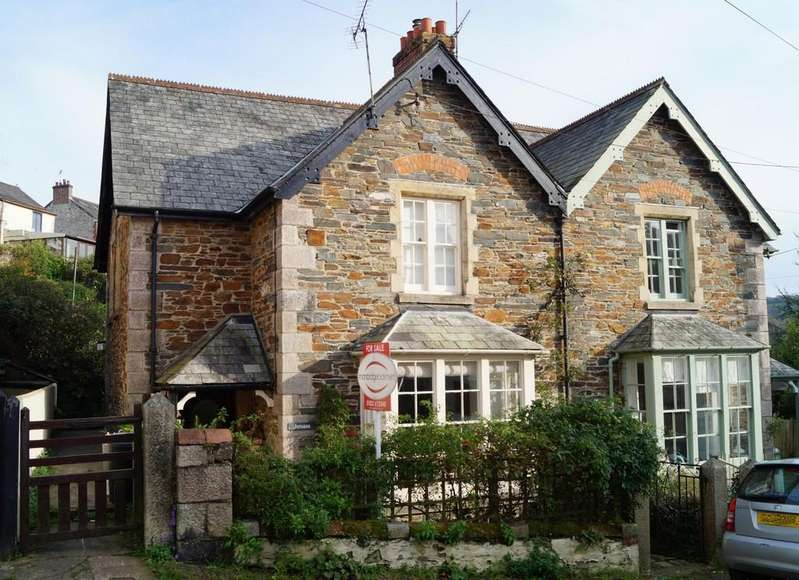 3 Bedrooms Semi Detached House for sale in Calstock
