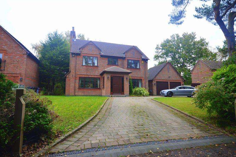4 Bedrooms Detached House for sale in Dumbreeze Grove, Knowsley Village