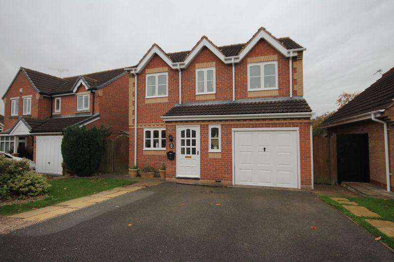 4 Bedrooms Detached House for sale in Farmlands Lane, Derby
