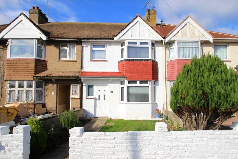 3 Bedrooms Terraced House for sale in Hillrise Avenue, Sompting, West Sussex, BN15