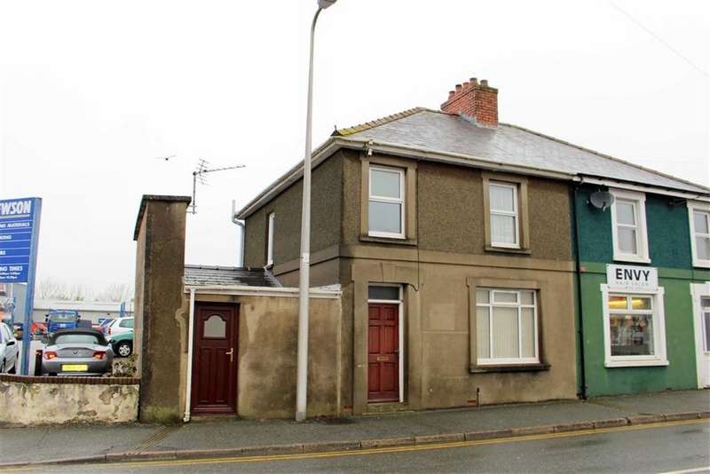 3 Bedrooms End Of Terrace House for sale in Prendegast, Haverfordwest