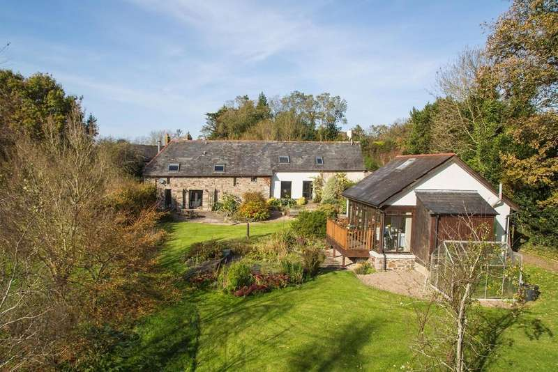 5 Bedrooms Barn Conversion Character Property for sale in Chichacott, Okehampton