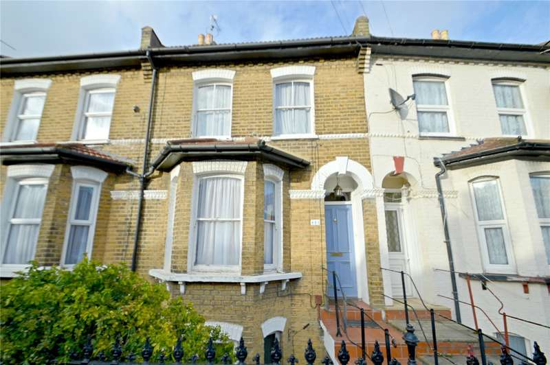 2 Bedrooms Maisonette Flat for sale in Oval Road, Croydon