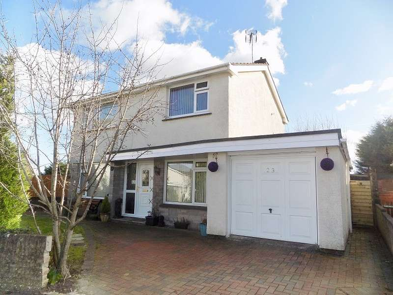 3 Bedrooms Detached House for sale in St Marys View, Coychurch, Bridgend. CF35 5HL
