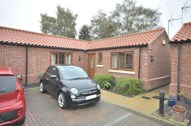 2 Bedrooms Semi Detached Bungalow for sale in Sheppards Court, Bottesford, Nottingham