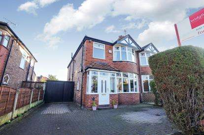 3 Bedrooms Semi Detached House for sale in Briarlands Avenue, Sale, Trafford, Greater Manchester