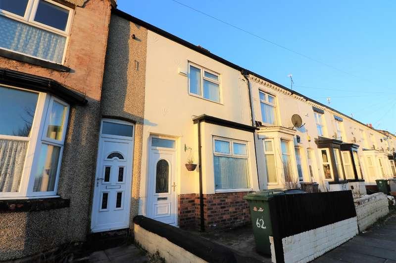 2 Bedrooms Terraced House for sale in Geneva Road, Wallasey, CH44 7EY