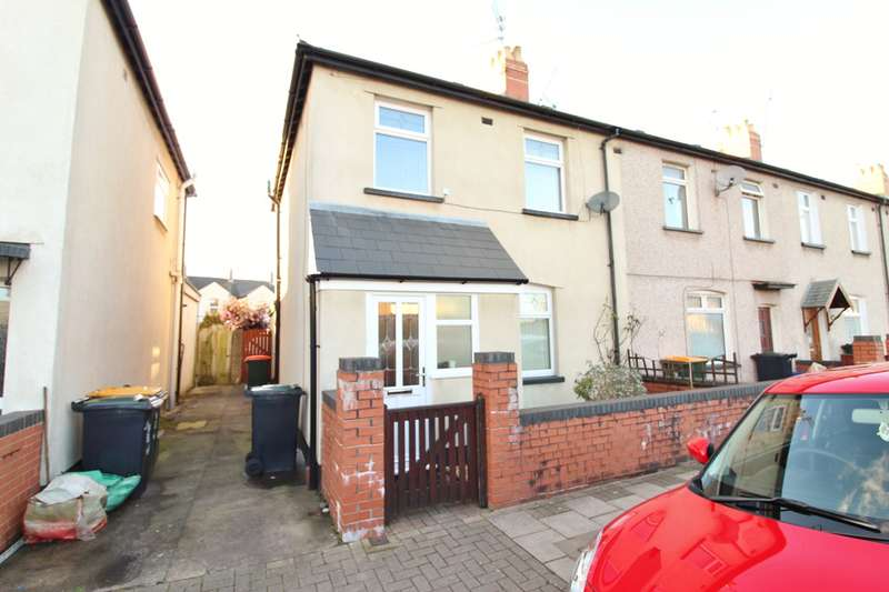 3 Bedrooms End Of Terrace House for sale in Fairfax Road, Newport, NP19