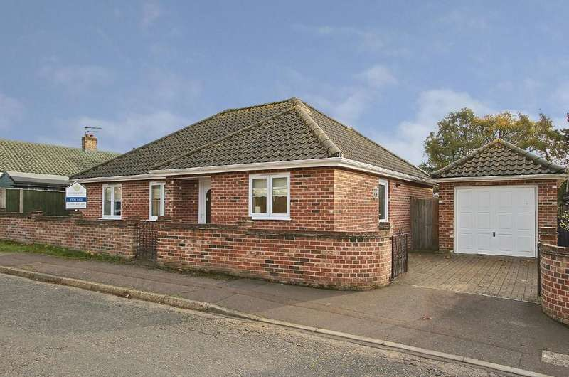 3 Bedrooms Detached Bungalow for sale in Rosary Close, Mulbarton