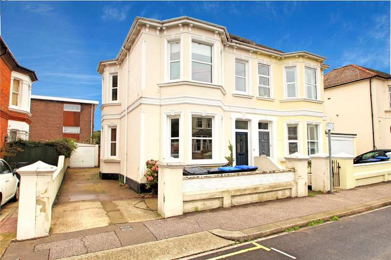 4 Bedrooms Semi Detached House for sale in Christchurch Road, Worthing, West Sussex, BN11
