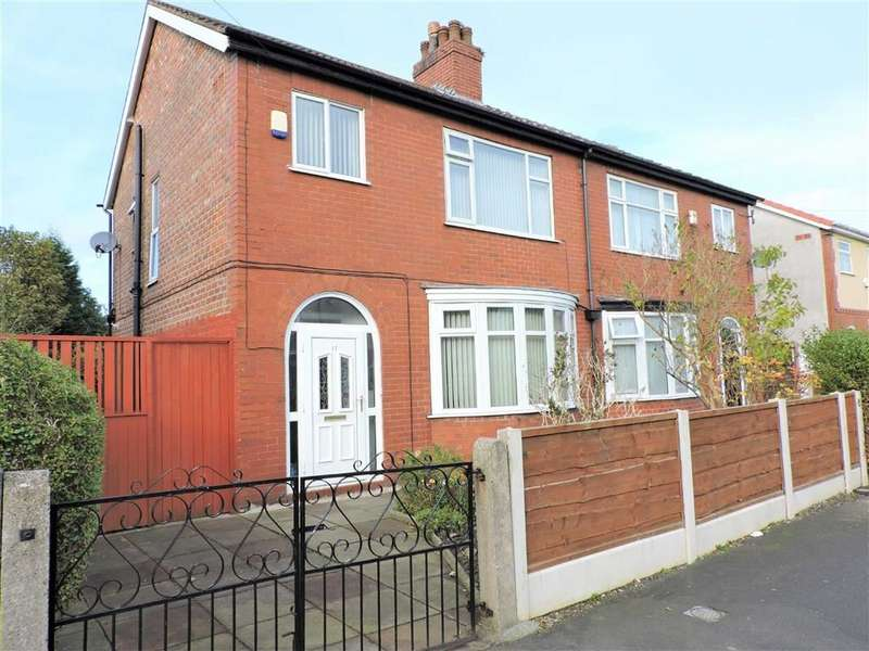 3 Bedrooms Semi Detached House for sale in Corringham Road, Manchester