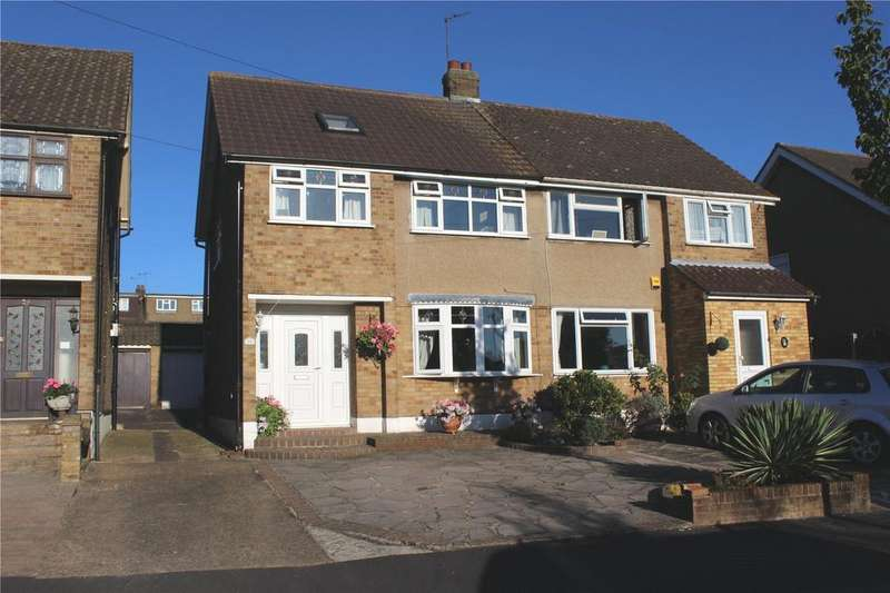 4 Bedrooms Semi Detached House for sale in Surrey Drive, Hornchurch, RM11