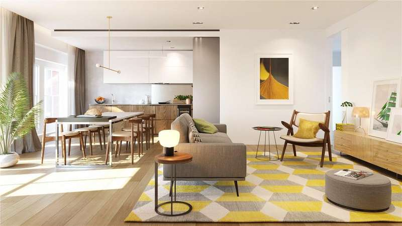 3 Bedrooms Flat for sale in Barts Square, 56 West Smithfield, Barbican, Farringdon, EC1A