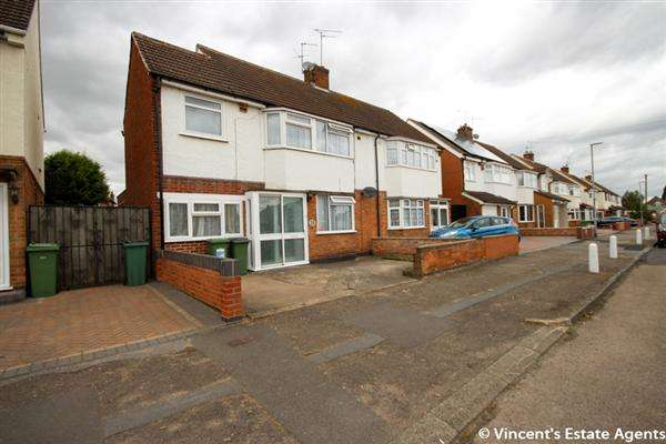 4 Bedrooms Semi Detached House for sale in Hazel Drive, Leicester