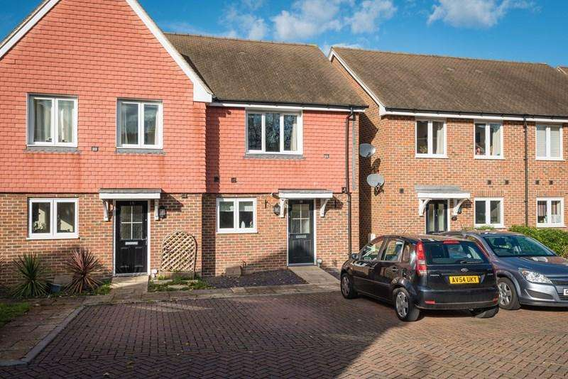 2 Bedrooms Semi Detached House for sale in Sand Ridge, Ridgewood, Uckfield