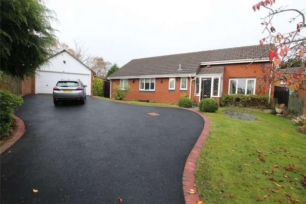 3 Bedrooms Detached Bungalow for sale in Bracken Close, Lichfield, Staffordshire