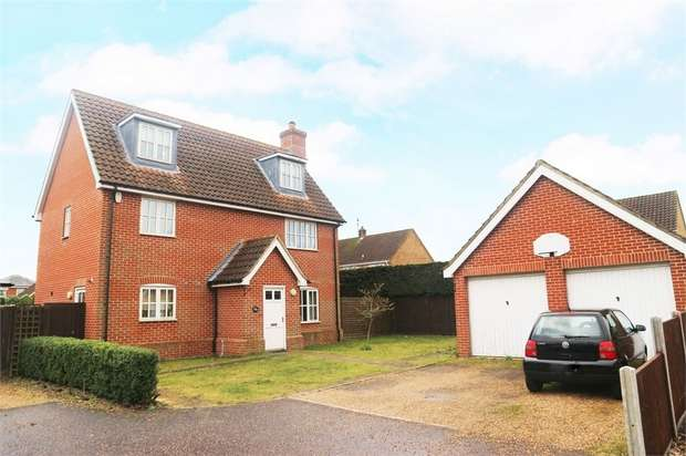 5 Bedrooms Detached House for sale in The Howards, North Wootton, King's Lynn, Norfolk