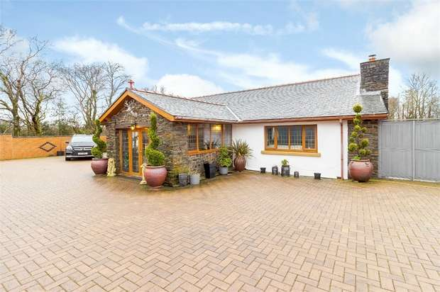 5 Bedrooms Detached House for sale in Carway, Carway, Kidwelly, Carmarthenshire