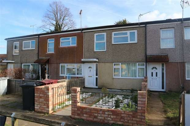 3 Bedrooms Terraced House for sale in Helmsdale Close, Reading, Berkshire