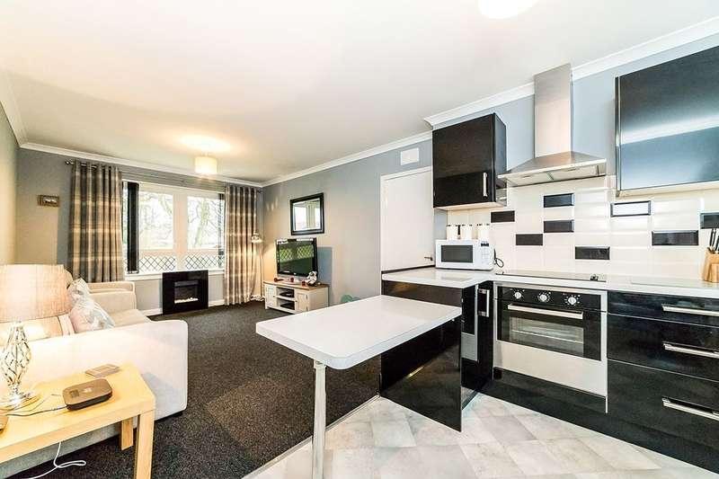 2 Bedrooms Flat for sale in Gowanlea Drive, Slamannan, Falkirk, FK1