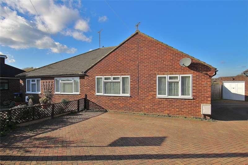 2 Bedrooms Semi Detached Bungalow for sale in Burnham Close, Knaphill, Woking, Surrey, GU21