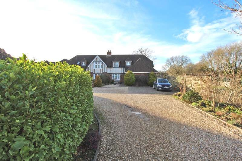4 Bedrooms Semi Detached House for sale in Sway Road, Brockenhurst