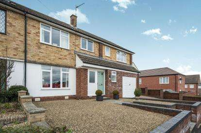 4 Bedrooms Semi Detached House for sale in Shelbourne Road, Stratford Upon Avon, Warwickshire