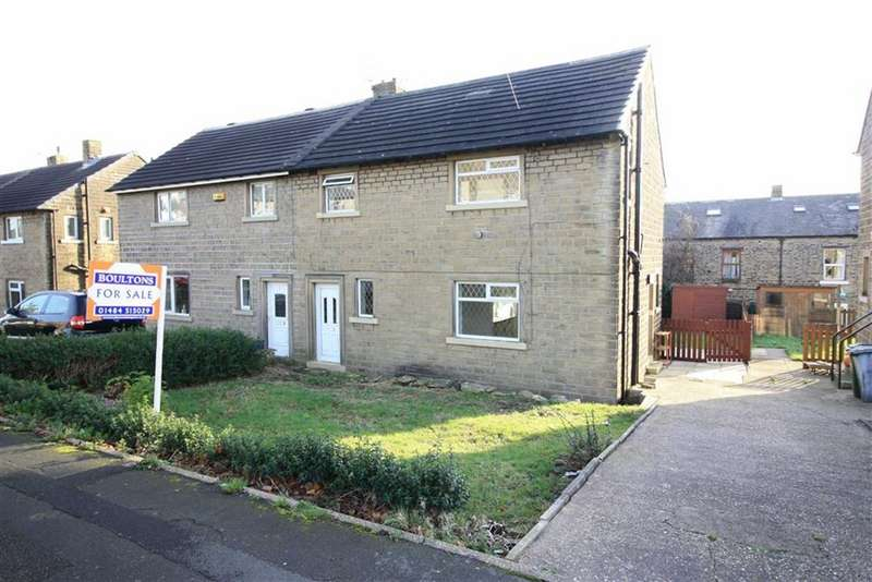 3 Bedrooms Semi Detached House for sale in Longlands Avenue, Slaithwaite, Huddersfield
