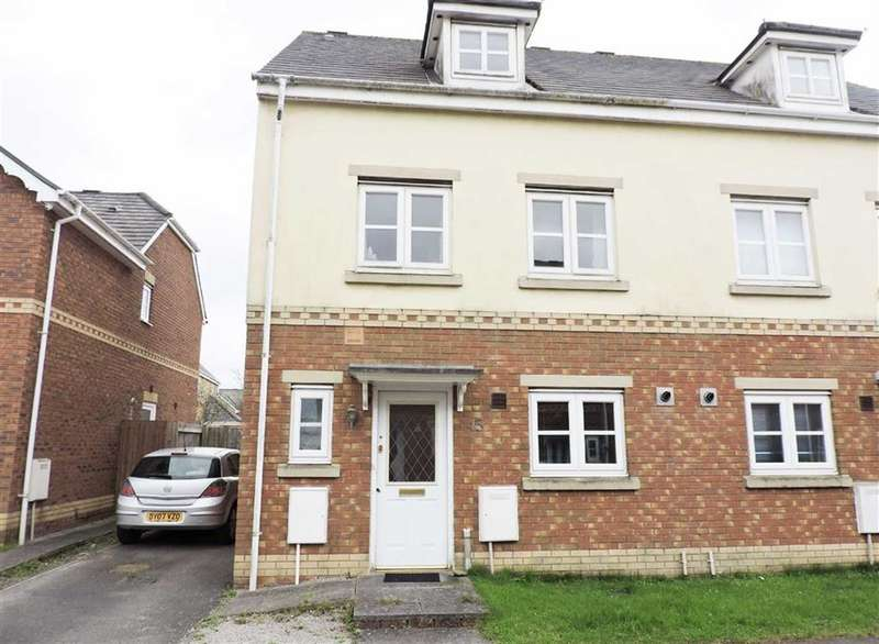 3 Bedrooms Semi Detached House for sale in Ger Y Nant, Birchgrove