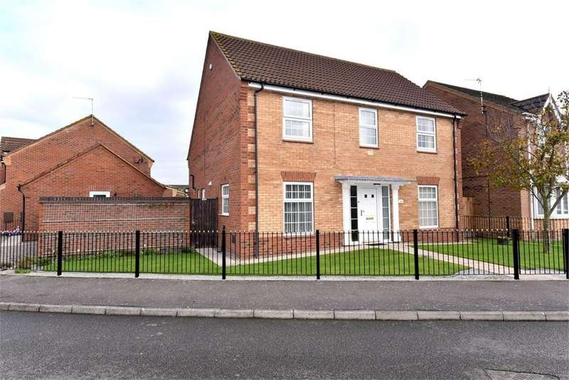 4 Bedrooms Detached House for sale in Saddlers Way, Fishtoft, Boston, Lincolnshire