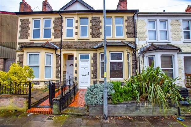2 Bedrooms Terraced House for sale in 233 Moorland Road, Cardiff