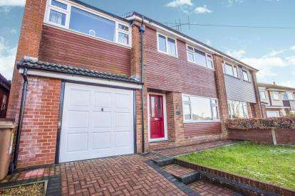 5 Bedrooms Semi Detached House for sale in Marina Drive, Fulwood, Preston, Lancashire, PR2