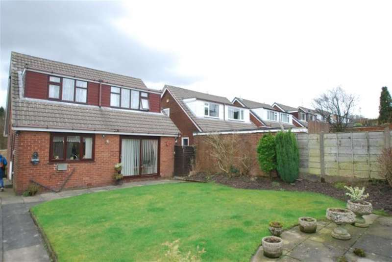 3 Bedrooms Detached House for sale in Bardsley Gate Avenue, Stalybridge, Cheshire, SK15 2TB