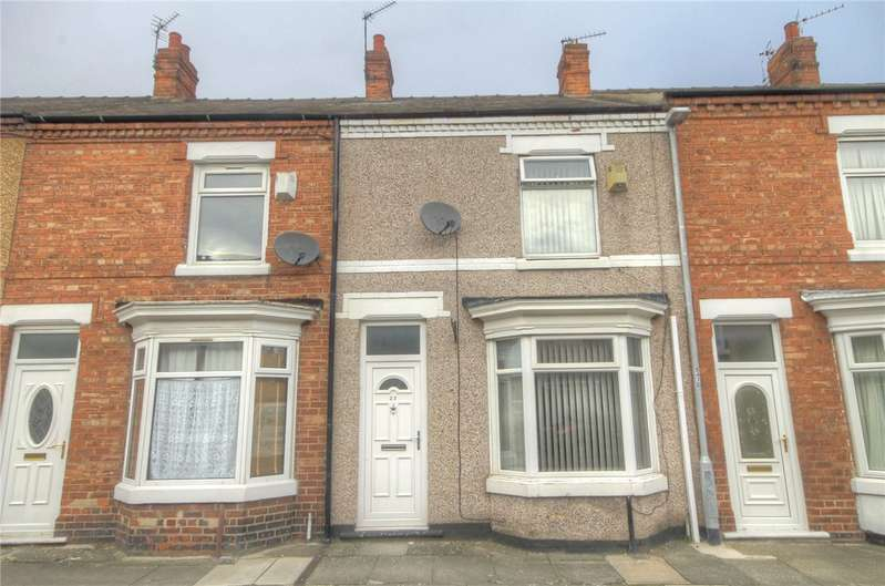 2 Bedrooms Terraced House for sale in Thirlmere Road, Darlington, DL1