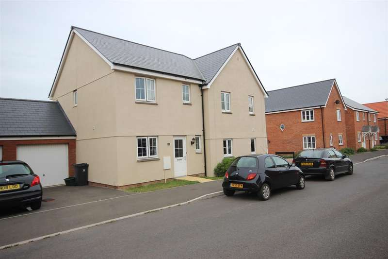 3 Bedrooms Semi Detached House for sale in Brooks Warren, Cranbrook, Exeter