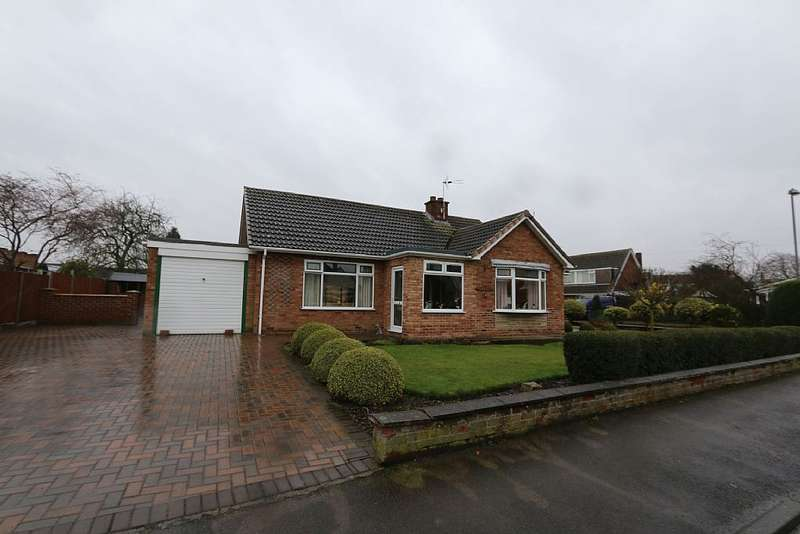 3 Bedrooms Detached Bungalow for sale in 14, Moss Green Lane, Brayton, Selby, North Yorkshire, YO8