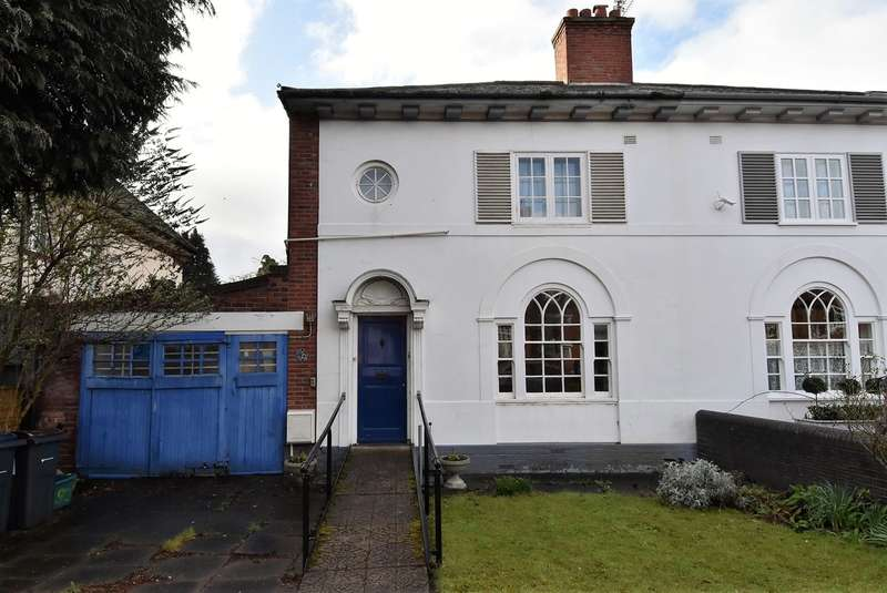 3 Bedrooms Semi Detached House for sale in Wentworth Road, Harborne, Birmingham, B17