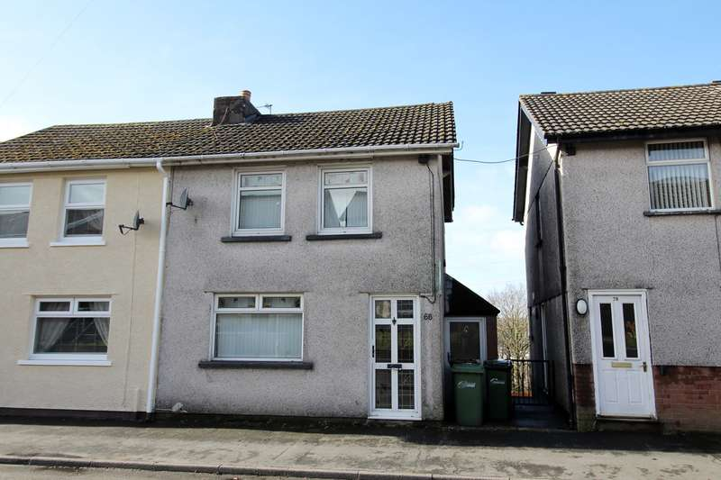 3 Bedrooms Semi Detached House for sale in Pencoed Avenue, Cefn Fforest, Blackwood, NP12