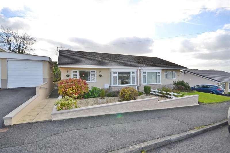 2 Bedrooms Semi Detached Bungalow for sale in Llangunnor, Carmarthen