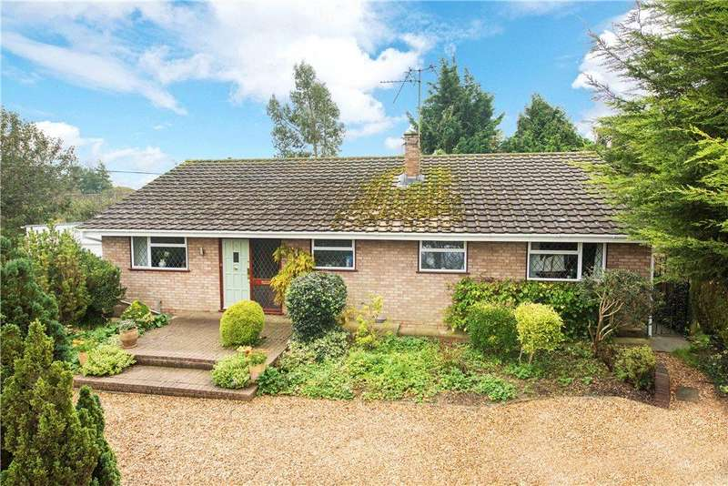 3 Bedrooms Detached Bungalow for sale in The Slipe, Cheddington, Leighton Buzzard, Buckinghamshire