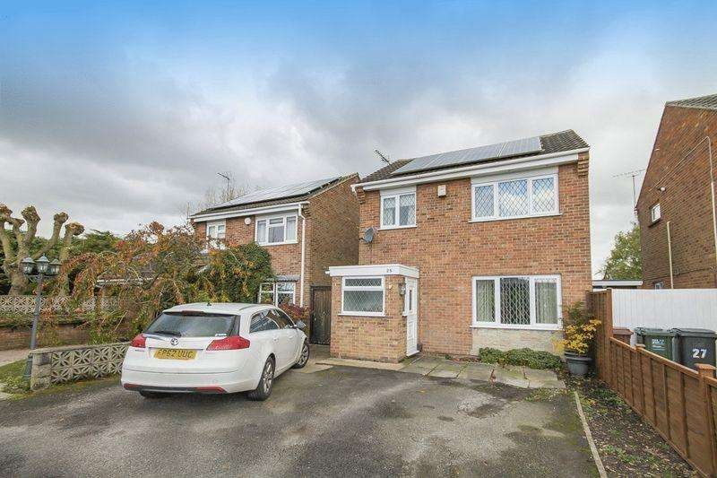 3 Bedrooms Detached House for sale in LUNDIE CLOSE, STENSON FIELDS