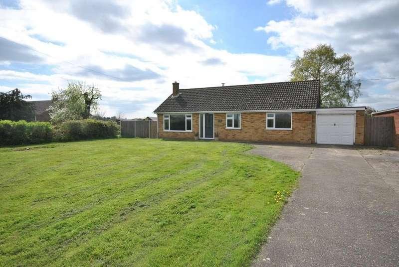 3 Bedrooms Detached Bungalow for sale in Woodrow Lane, Aslacton, Norfolk