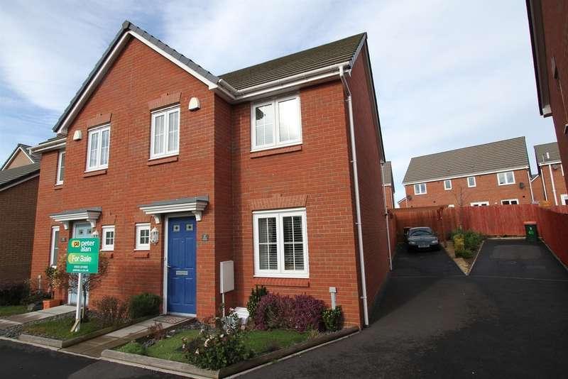 3 Bedrooms Semi Detached House for sale in Heol Senni, Bettws, Newport